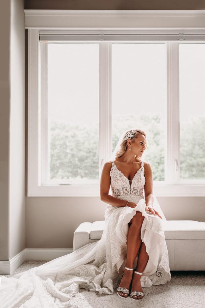 Beautiful Bride Richland Michigan Wedding Photography