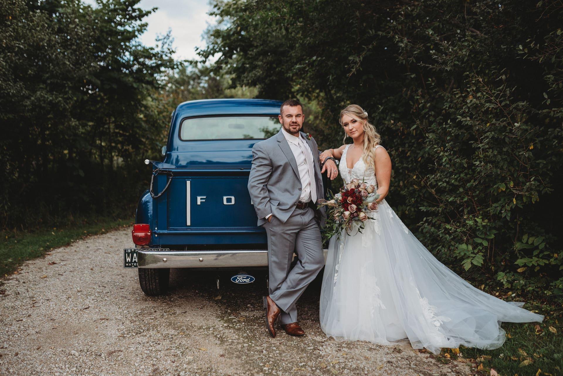 Car Brides Richland Michigan Wedding Photography