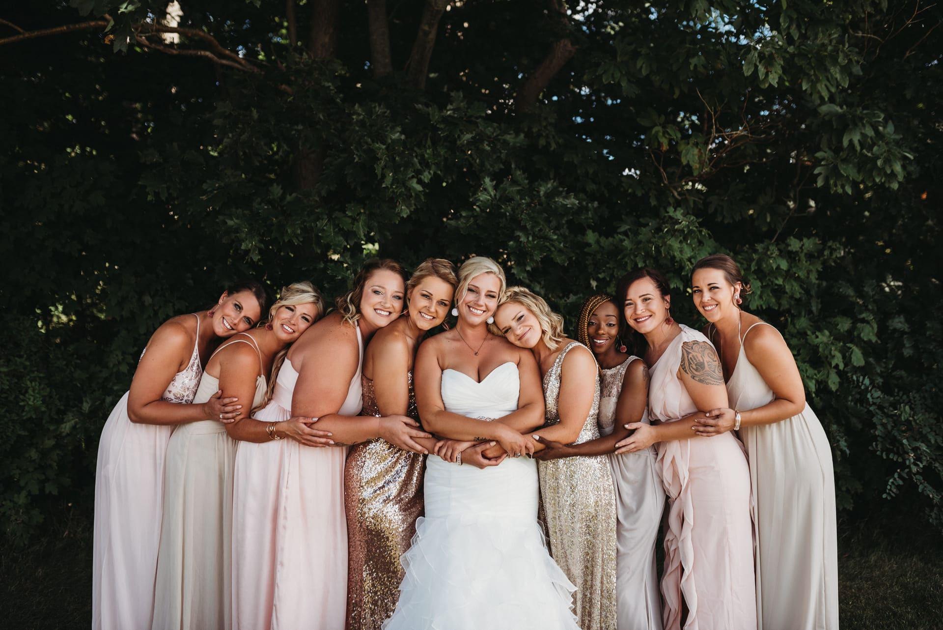 Bridesmaids Richland Michigan Wedding Photography