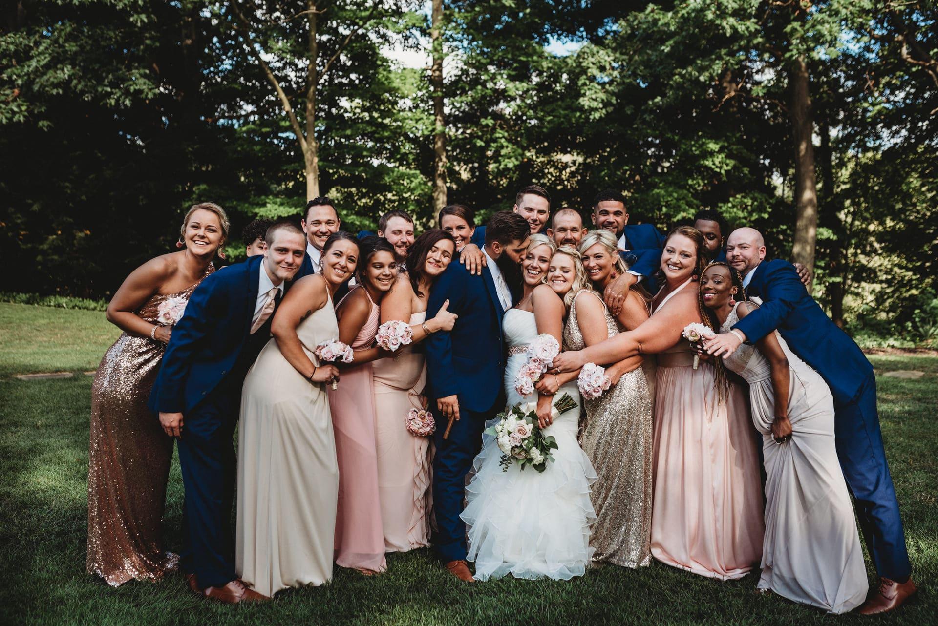 Brides Friends Richland Michigan Wedding Photography
