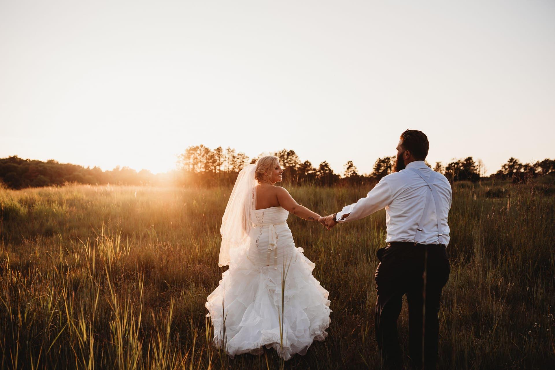 Sunset Brides Richland Michigan Wedding Photography