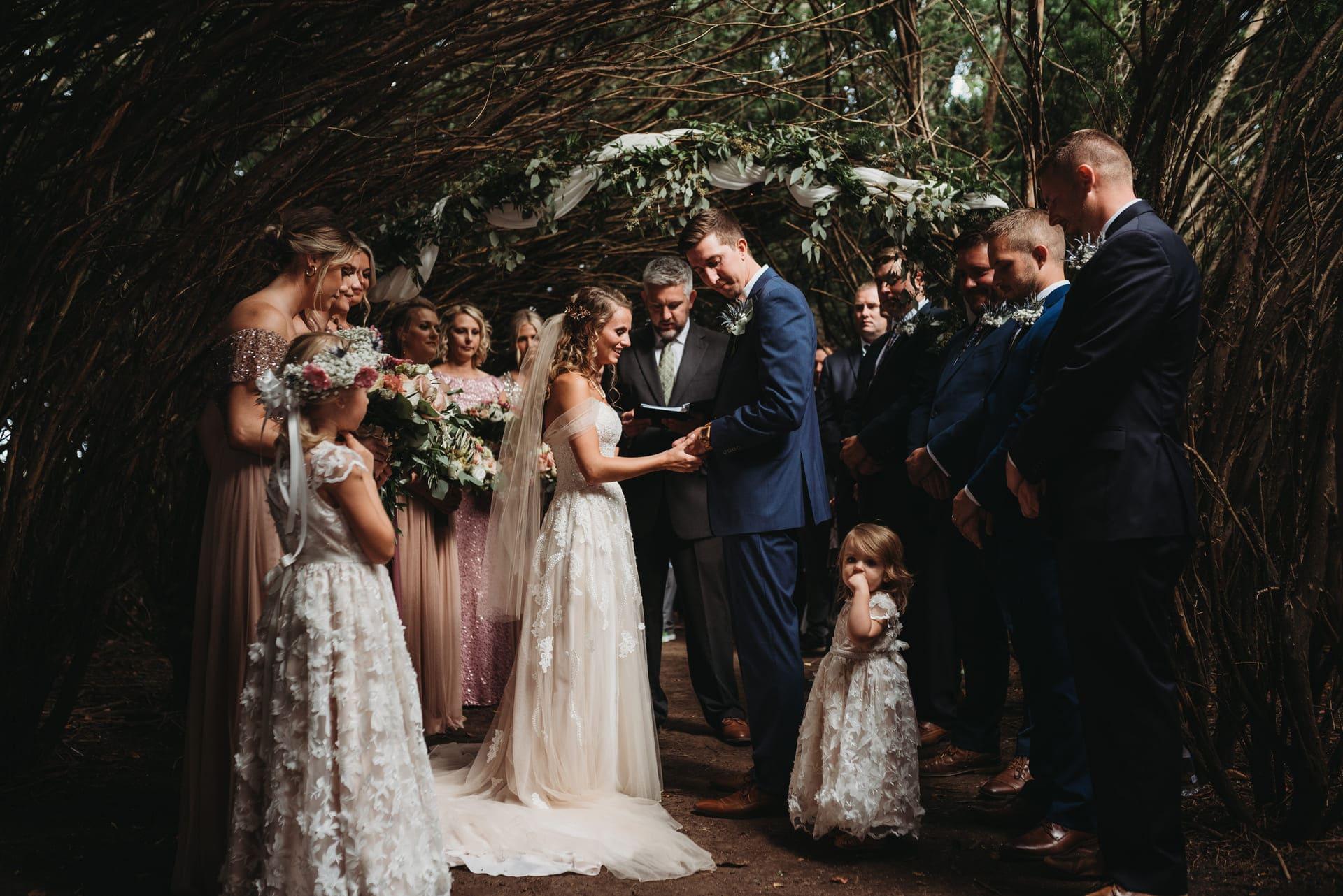 Ceremony Richland Michigan Wedding Photography