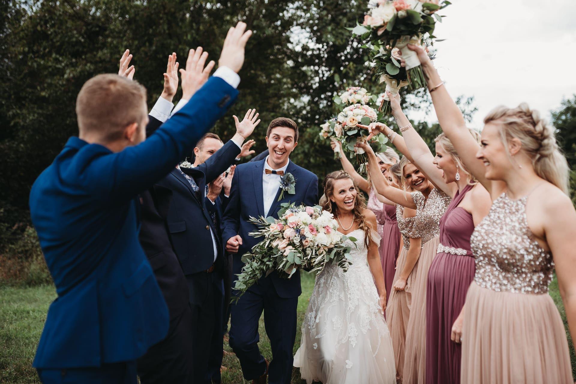 Happy Brides Richland Michigan Wedding Photography