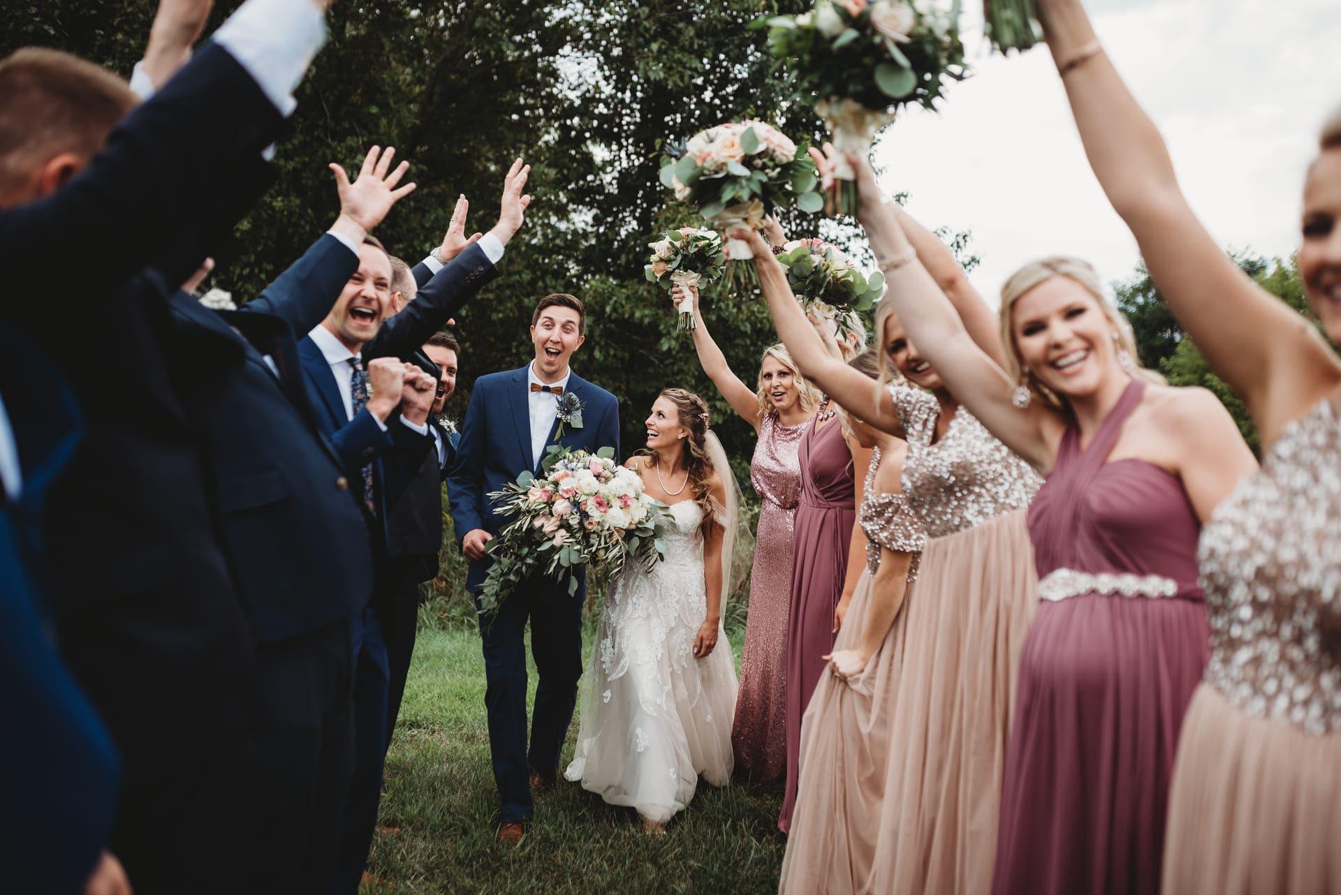 Brides Happy Richland Michigan Wedding Photography