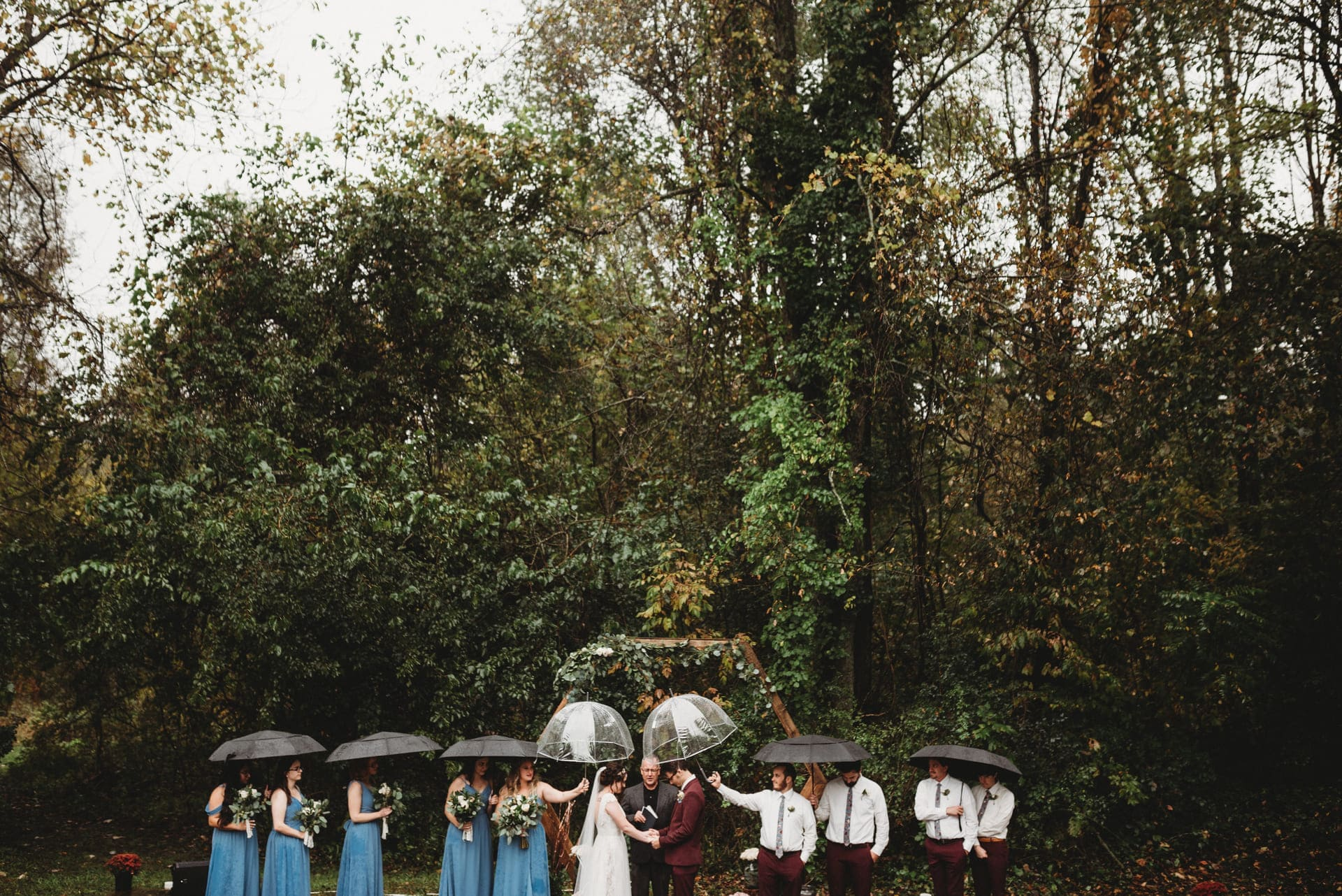 Umbrellas Richland Michigan Wedding Photography