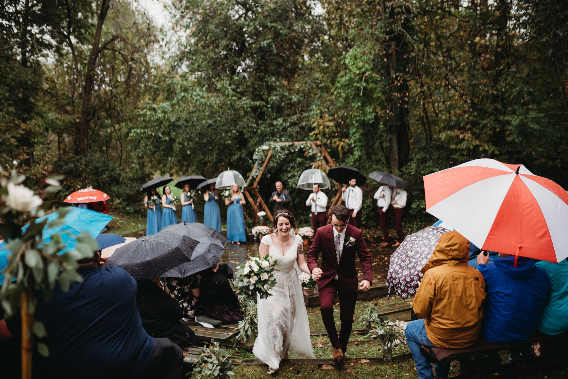 Rain Brides Richland Michigan Wedding Photography
