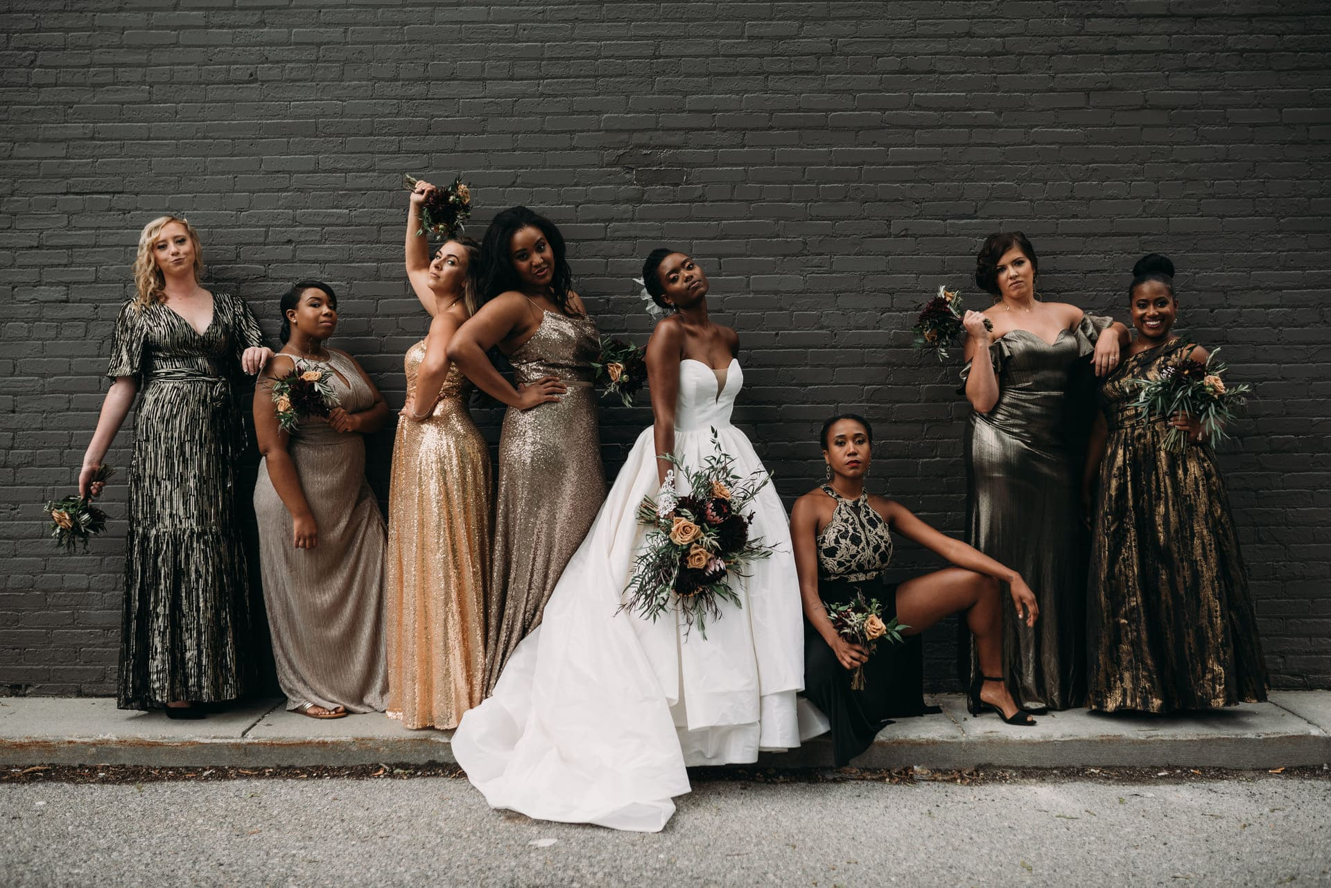 Bride Friends Richland Michigan Wedding Photography