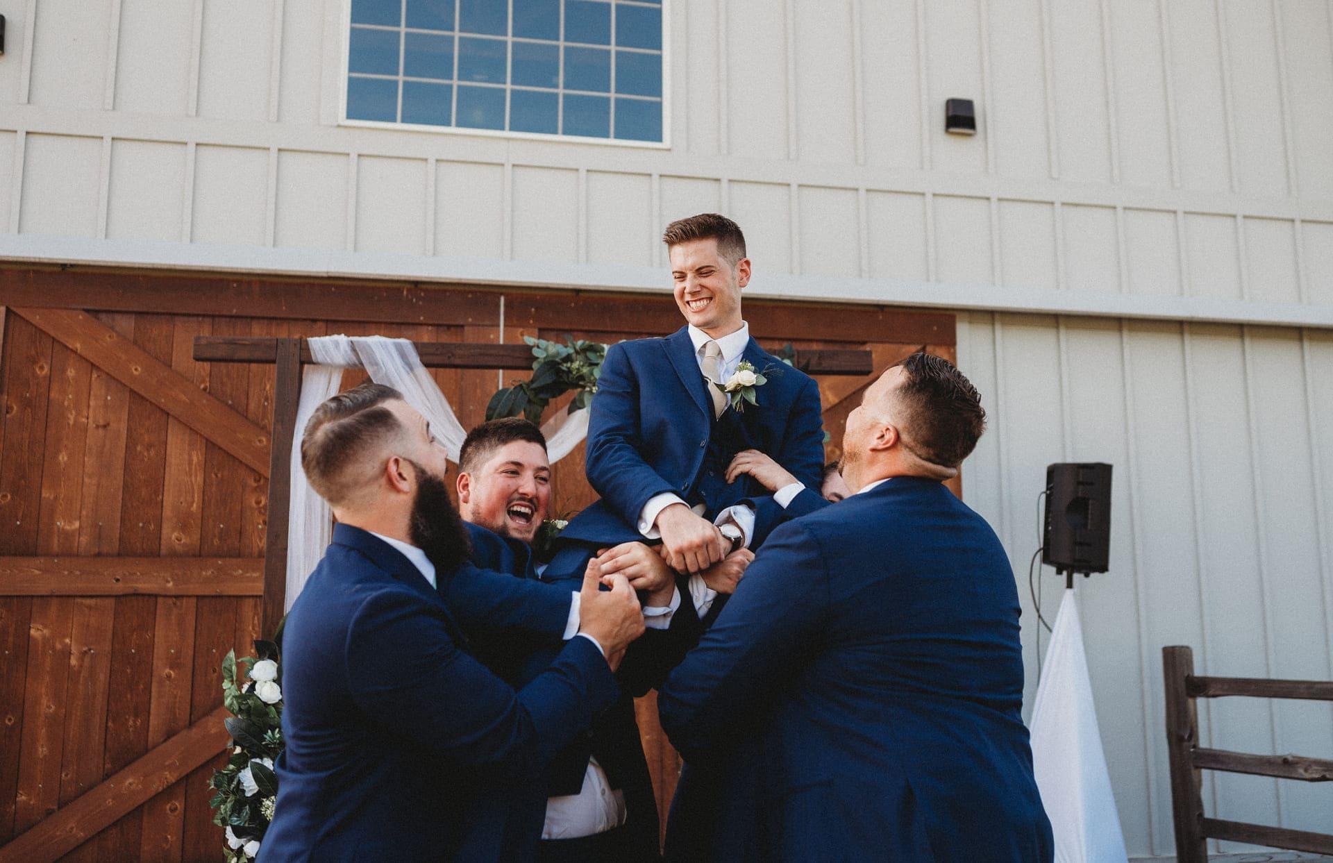 Mens Richland Michigan Wedding Photography