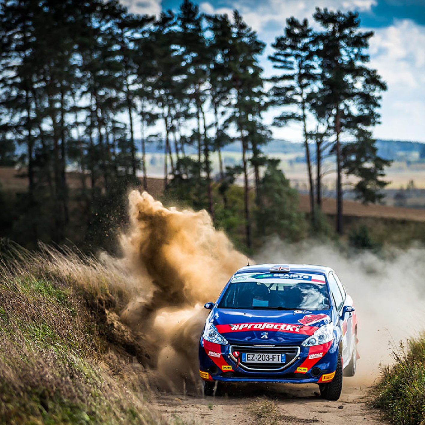 Peugeot Rally Catie Munnings