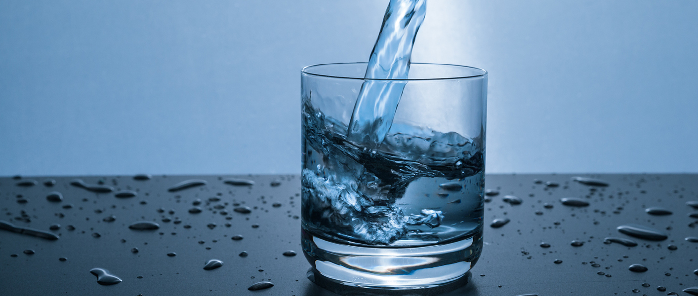 Drink plenty of water to protect skin over summer