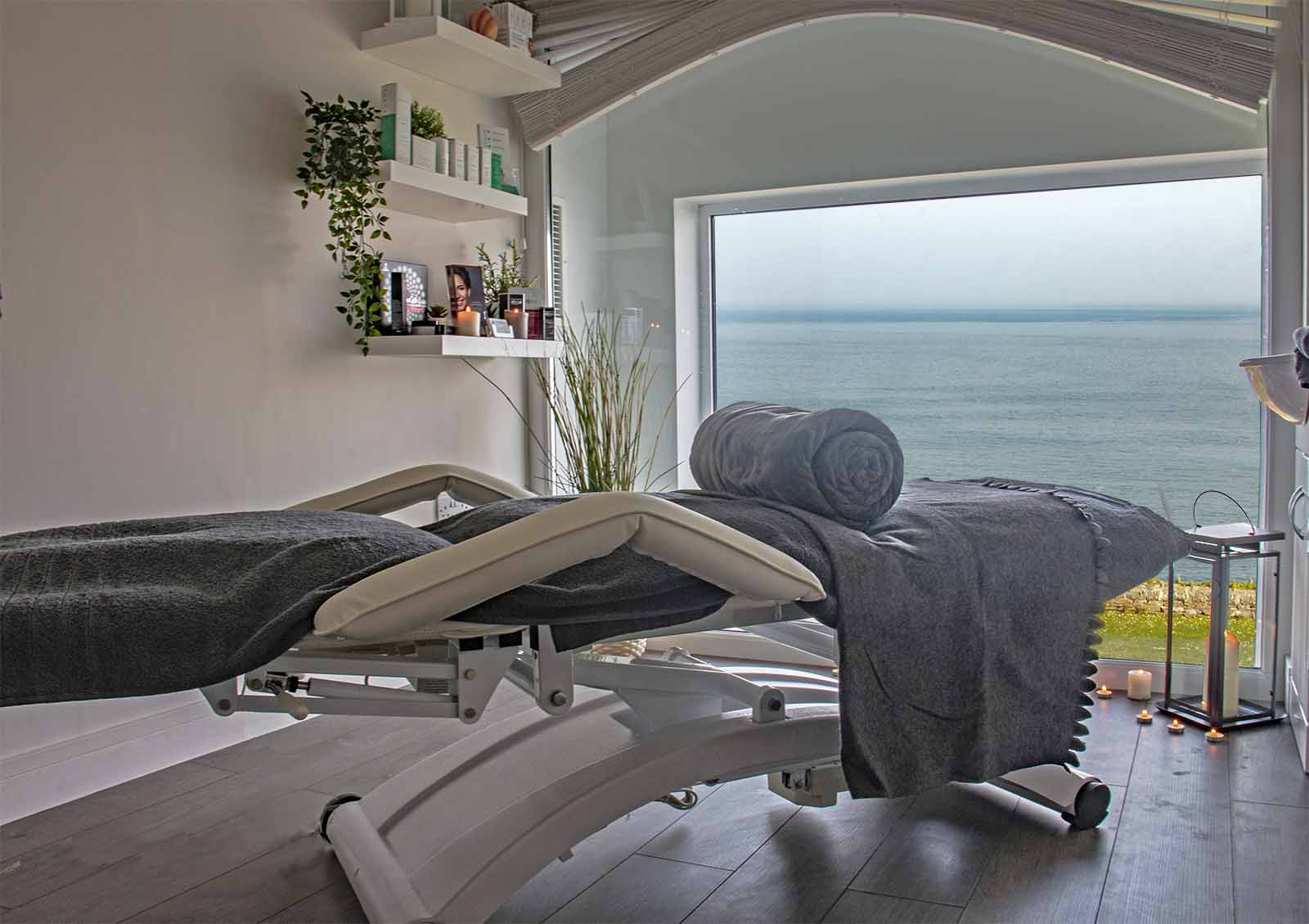 Ocean View Treatment Room, Atlantic Hotel in Newquay Cornwall