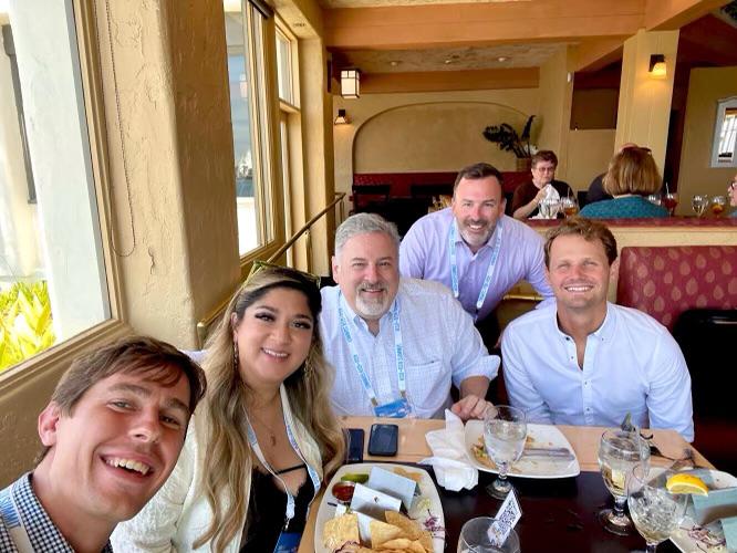 The Nectir investor team at the ASU+GSV summit.