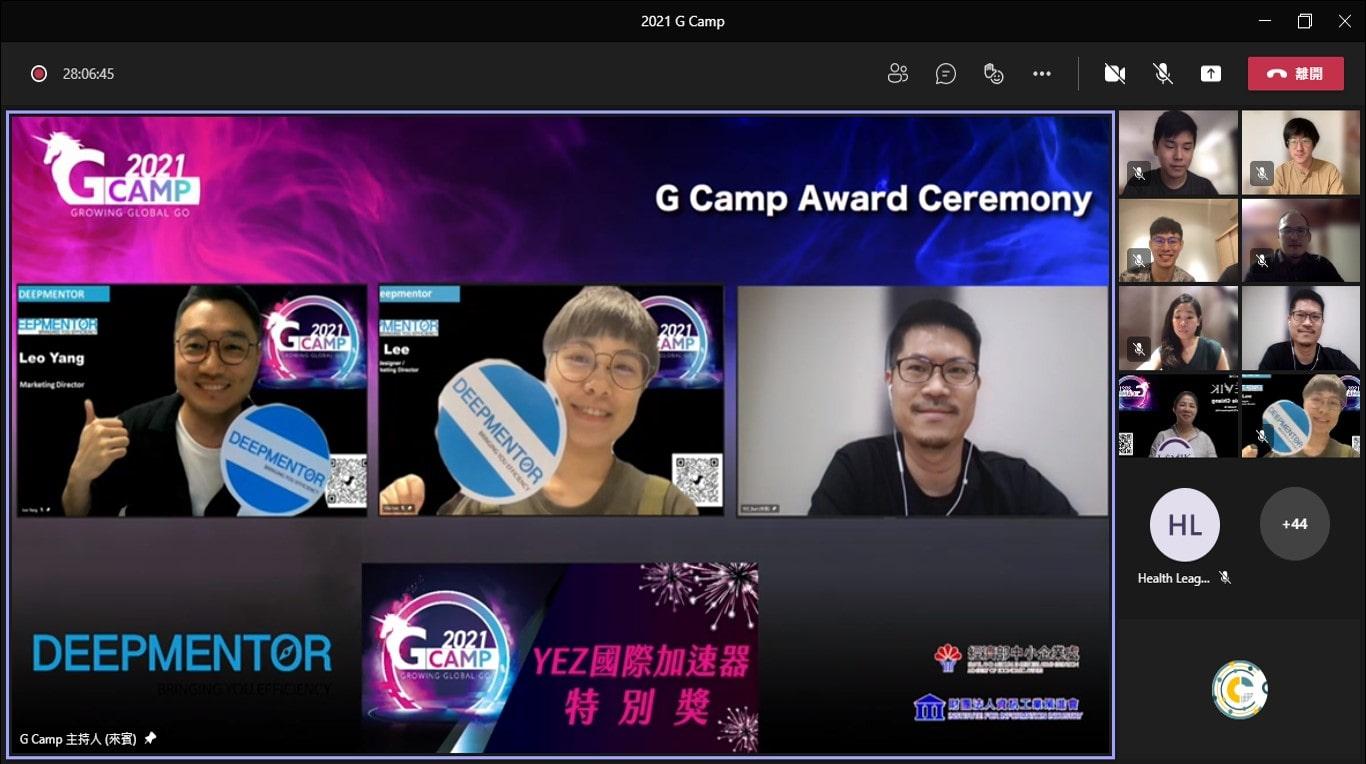 Award Ceremony - YEZ International Accelerator Special Award