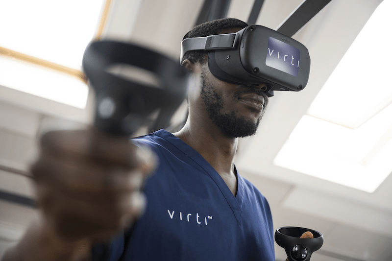 Virti Device for healthcare use, via Virti's website