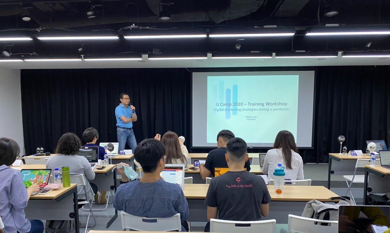 SparkAmplify 創辦人陳健群參與GCamp工作坊