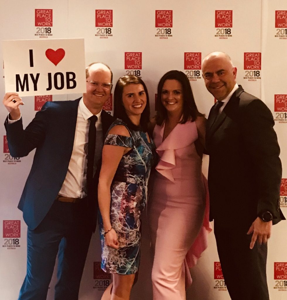 BlueRock staff at the Best Place to Work awards