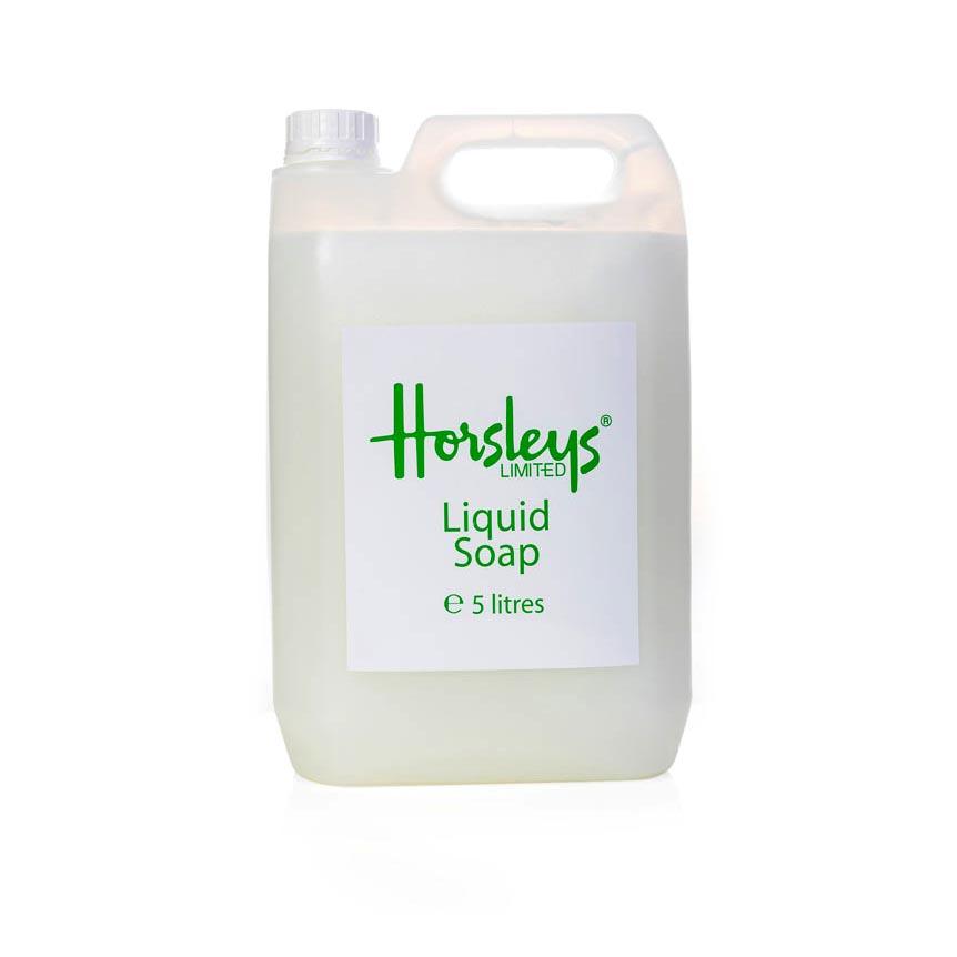 airline liquid soap 5litre refill from Horsleys