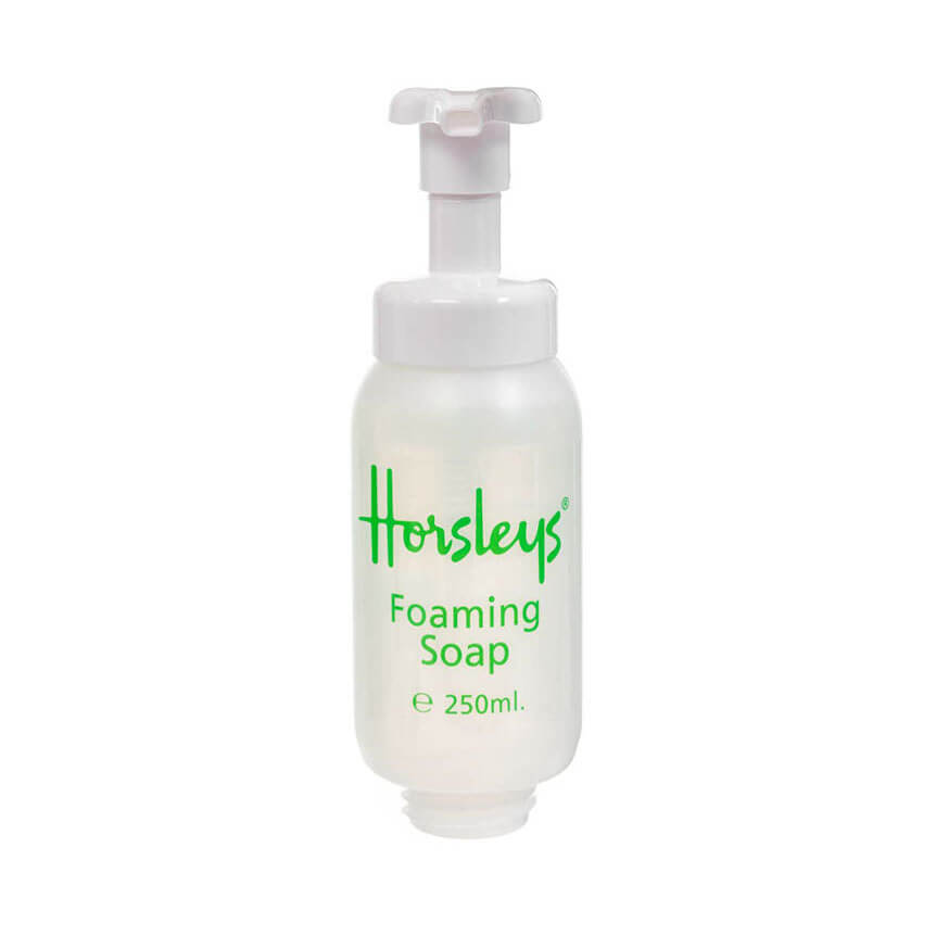 Foaming hand soap for airline bathrooms
