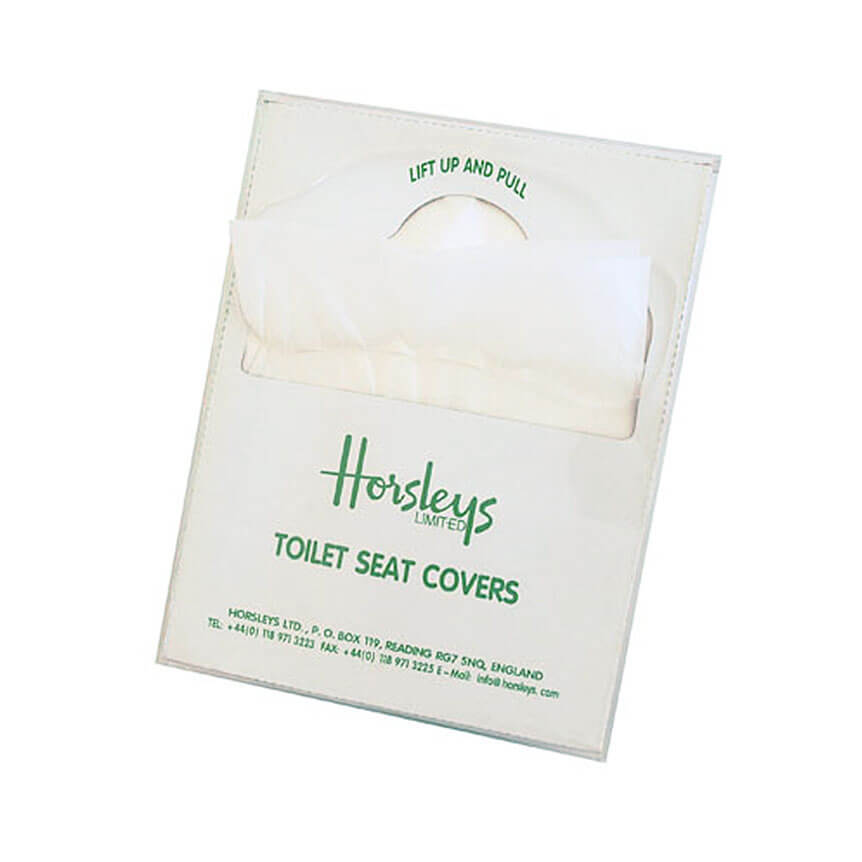 Toilet seat covers for airline industry