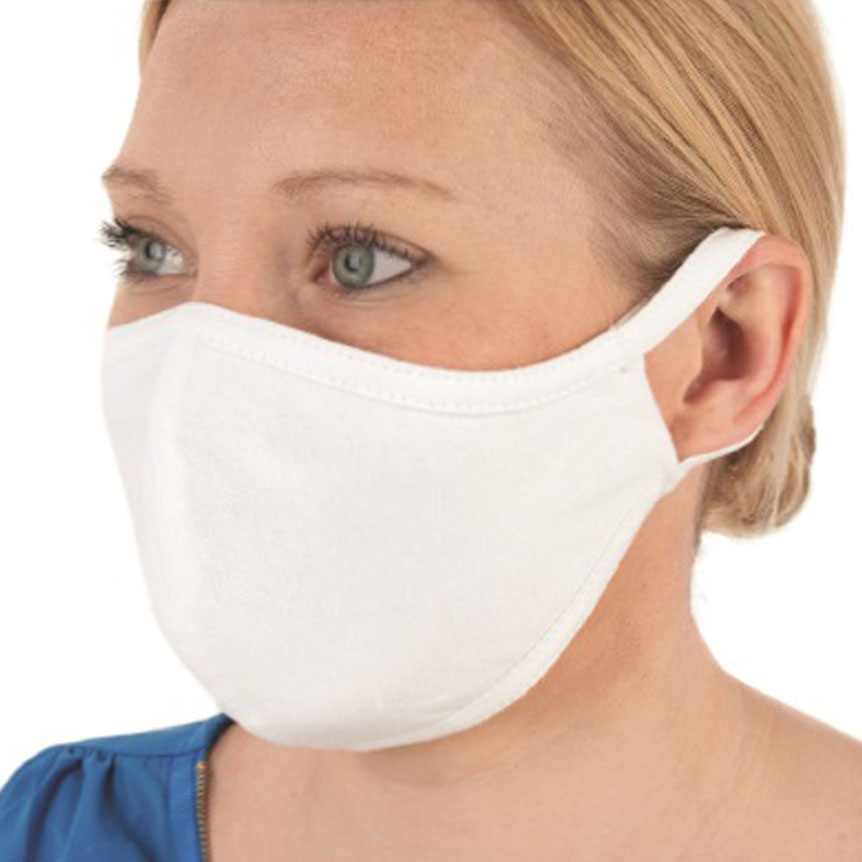 Reusable washable anti-bacterial face mask