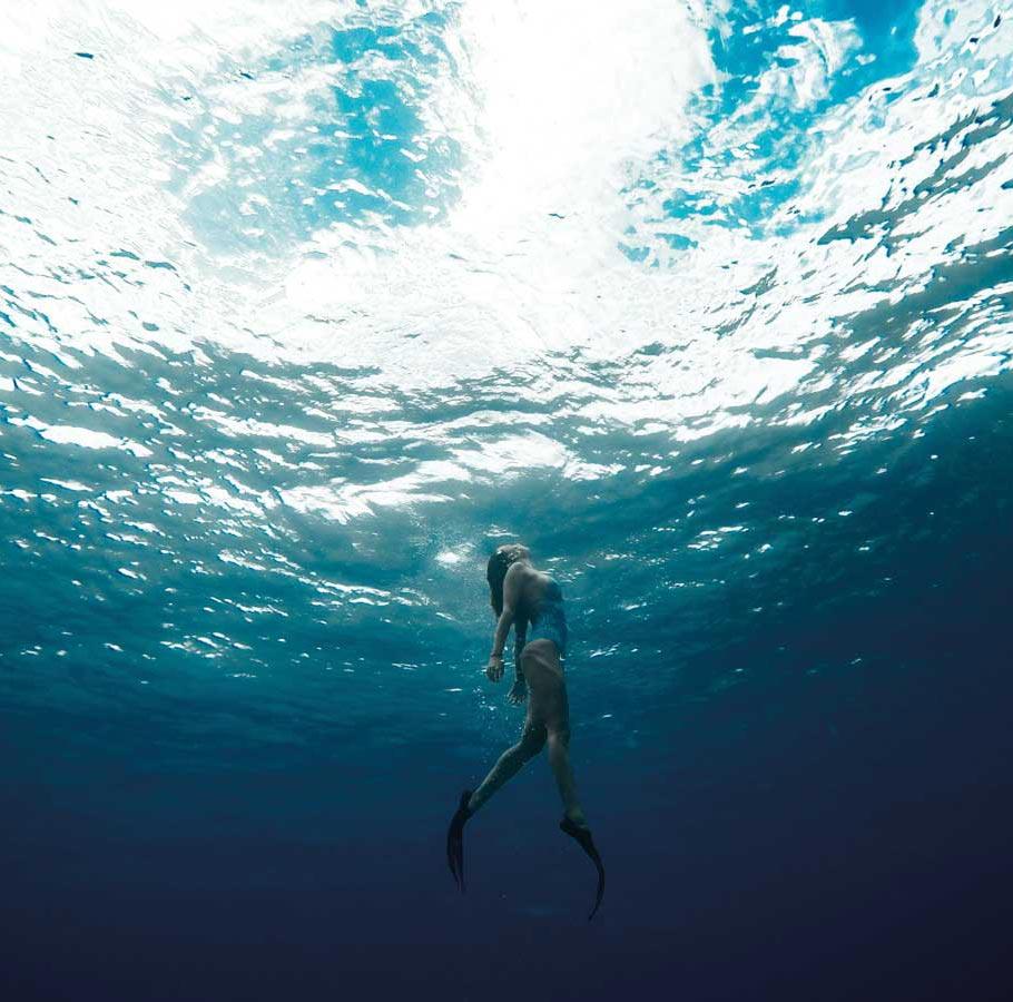 Abama - free diver