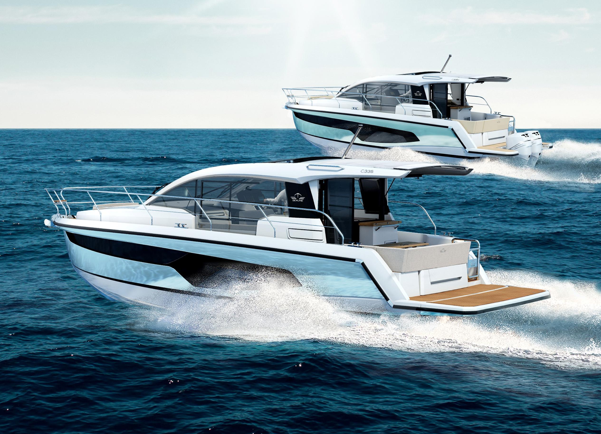 Neu Sealine C335 und C335v