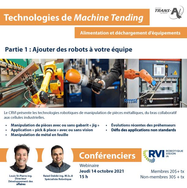Technologies de Machine Tending