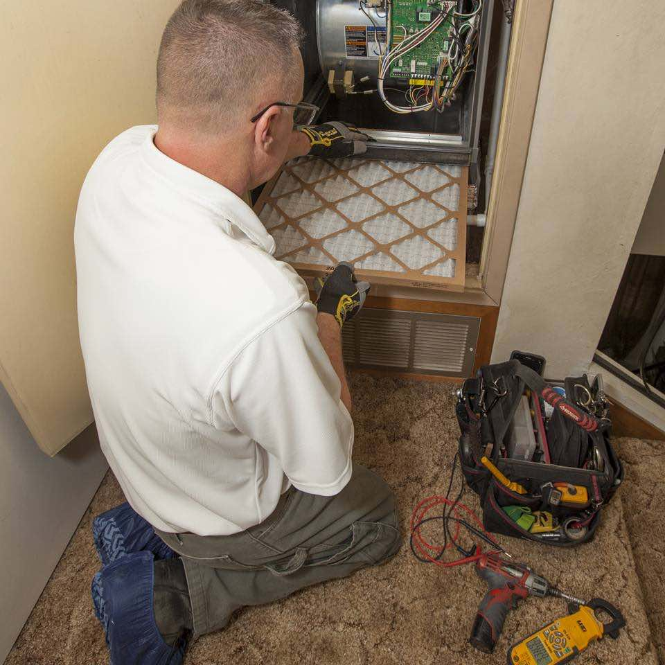 System maintenance by Facino Heating And Air