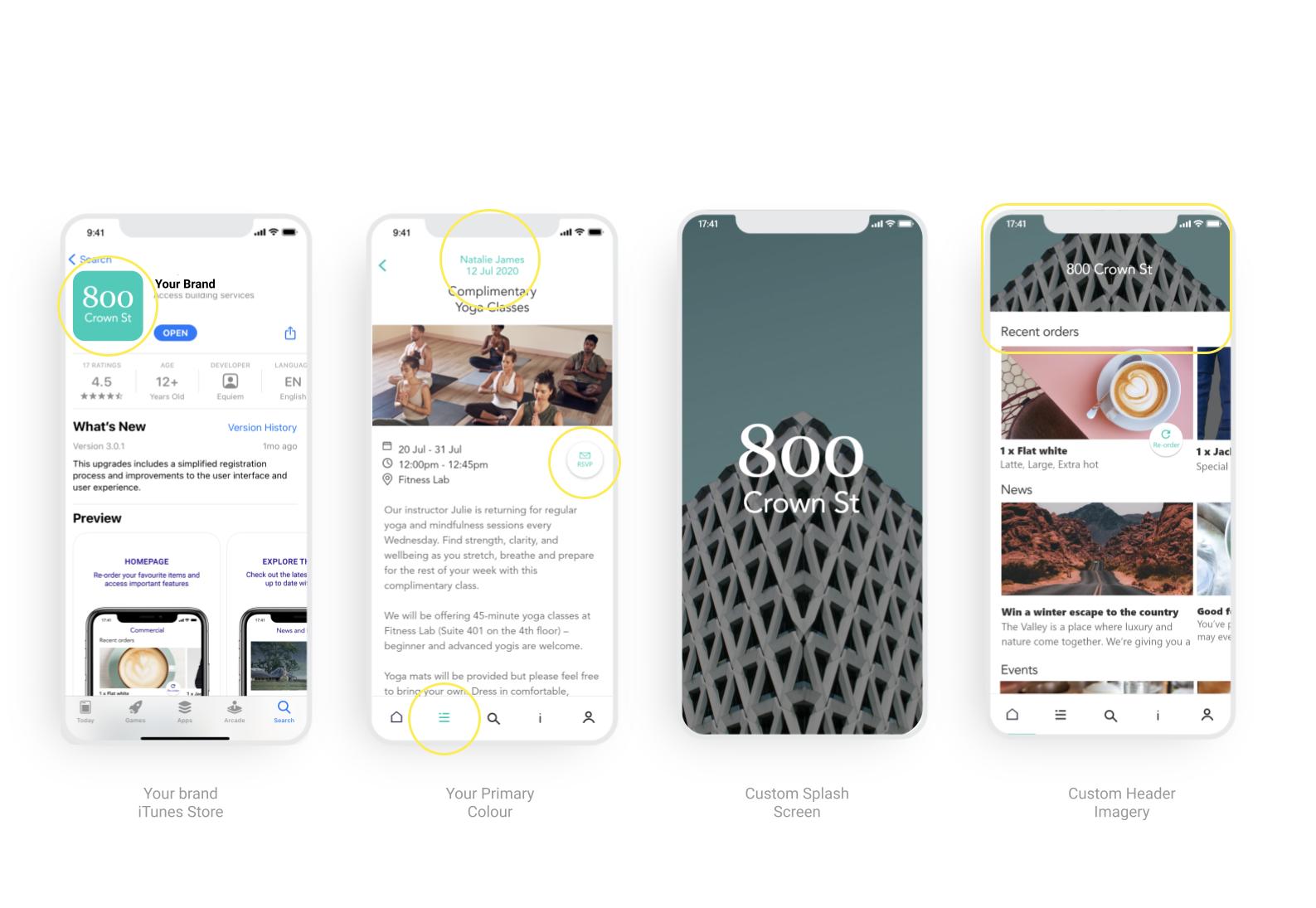 Equiem's custom-branded tenant experience platform.