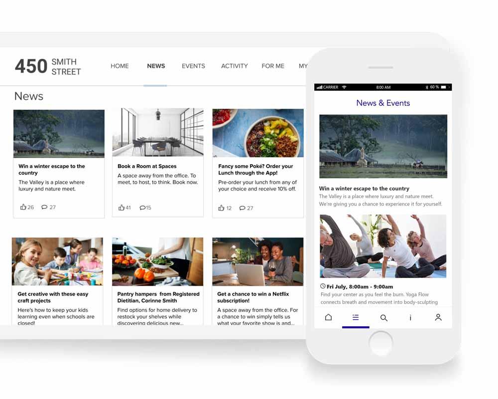 Community engagement app #2 Landlord Management Software   Equiem Tenant Portal