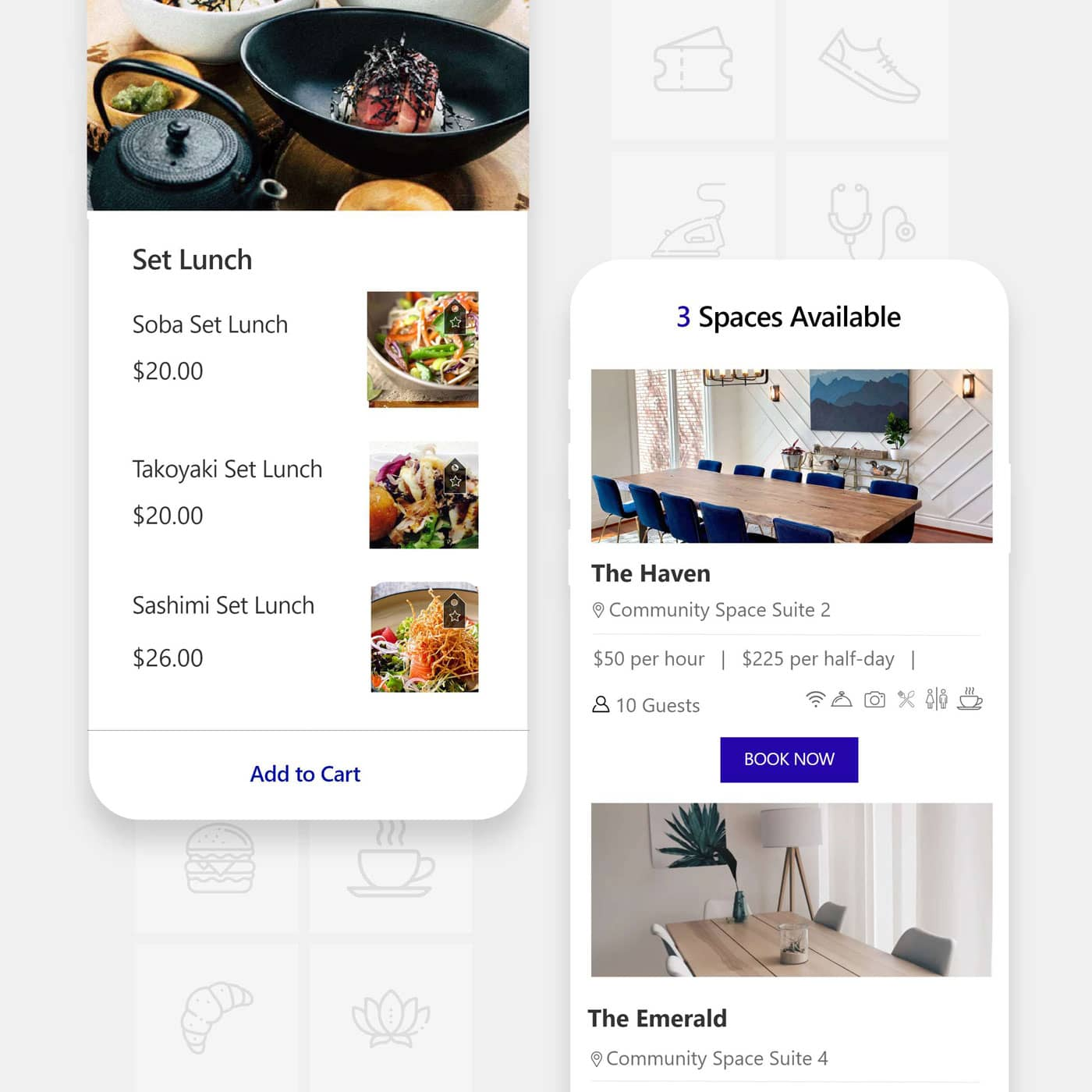 Office Building Food and Beverage Software Solutions | Equiem Tenant Portal | Facility management app