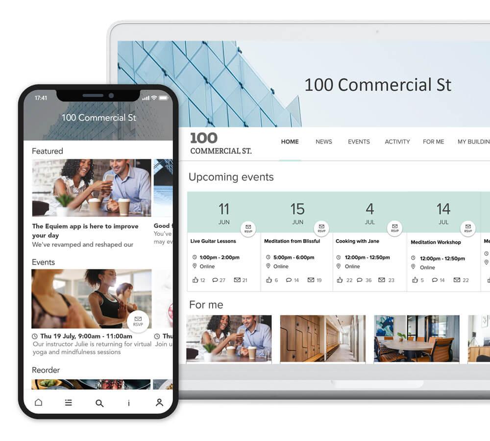 Proptech Smart Spaces Platform | Equiem Tenant Portal