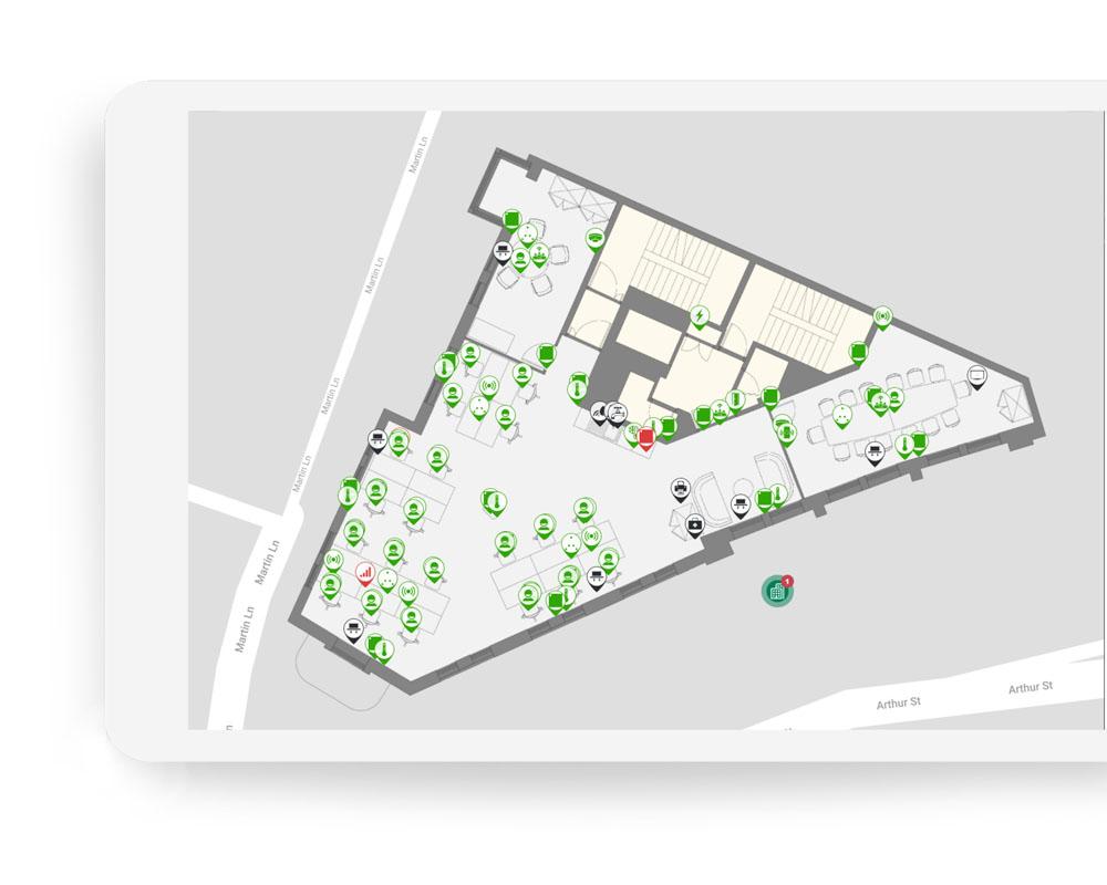 Commercial Office Floor IoT Integration | Equiem Tenant Portal
