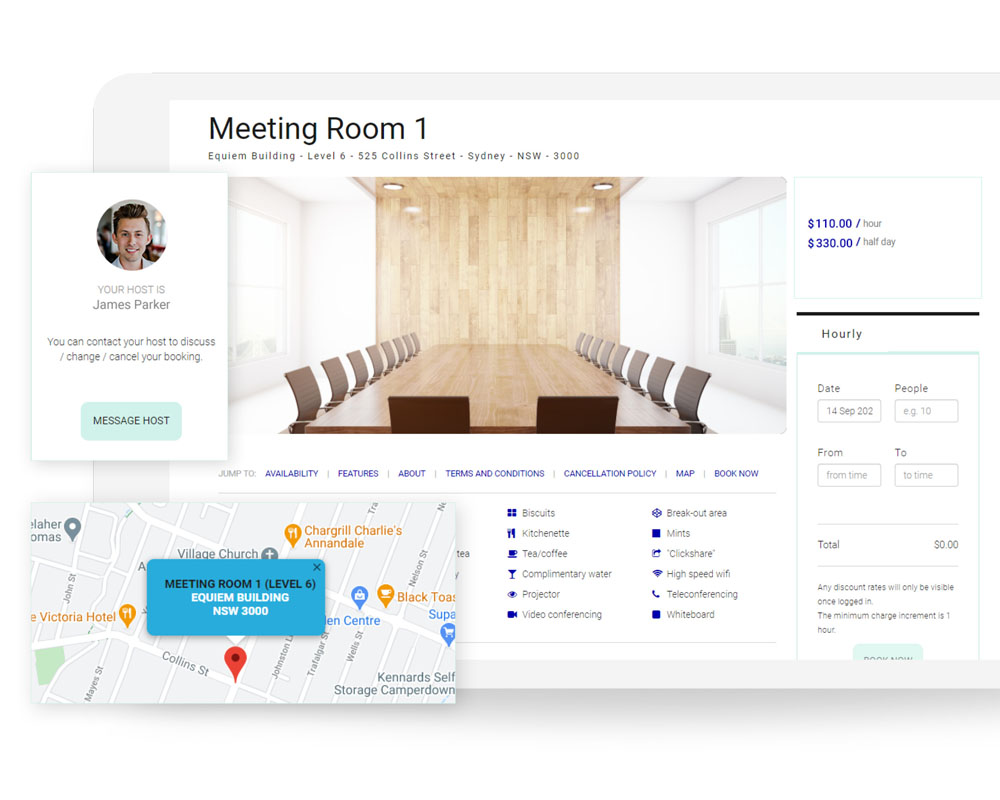 Flex Space Booking Platform for Offices | Equiem Tenant Portal