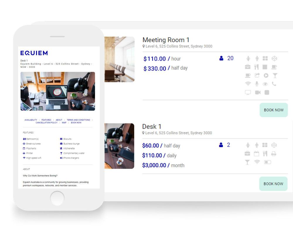 Flexible Room Booking Software for Tenants | Equiem Tenant Portal