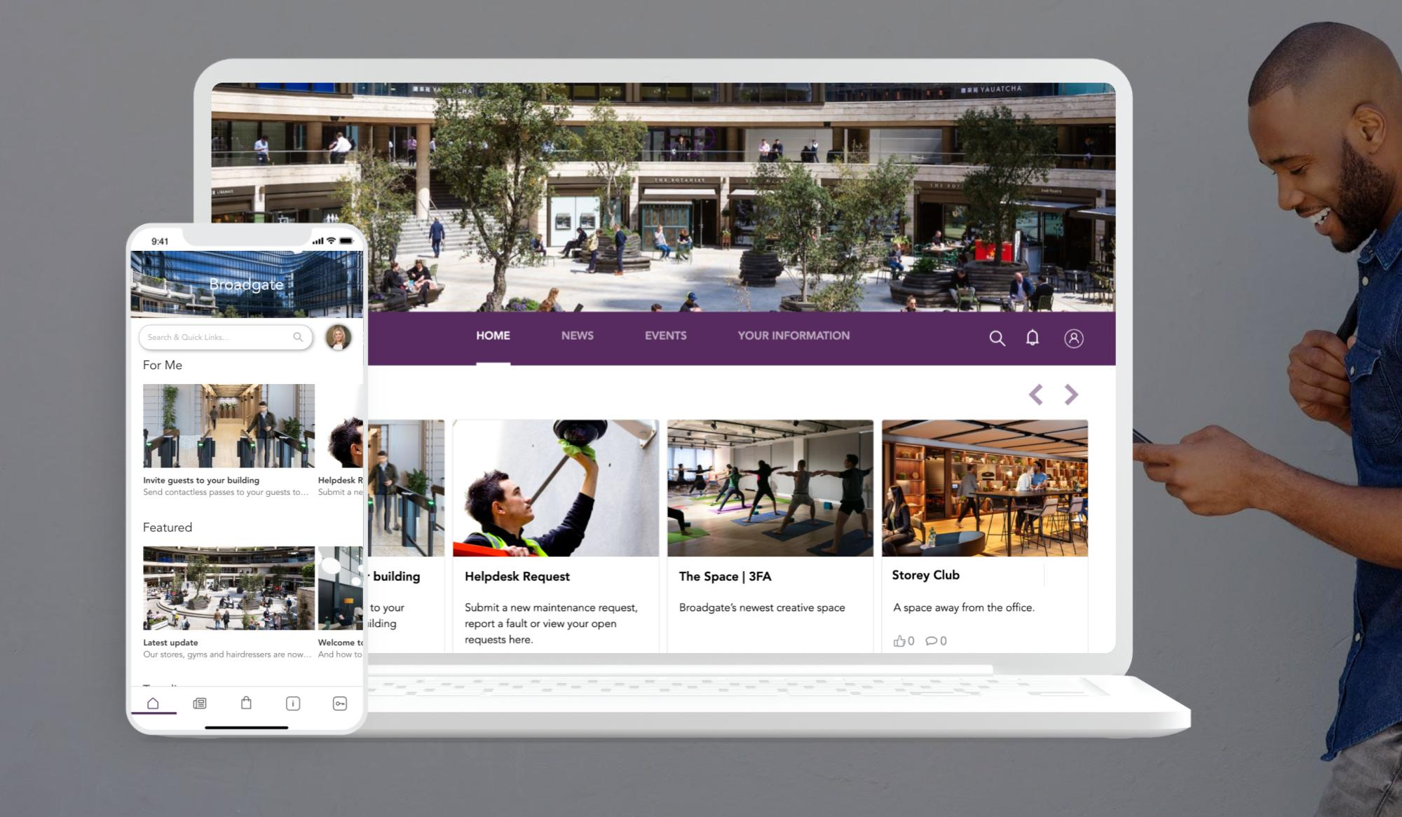 Tenant Experience Platform for Commercial Property Managers   Vicinitee Property Management Software