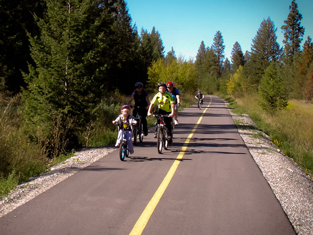 Kids on the North Star Rails to Trails