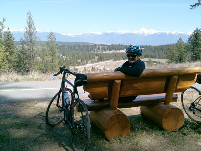North Star Rails to Trails Memorial Bench