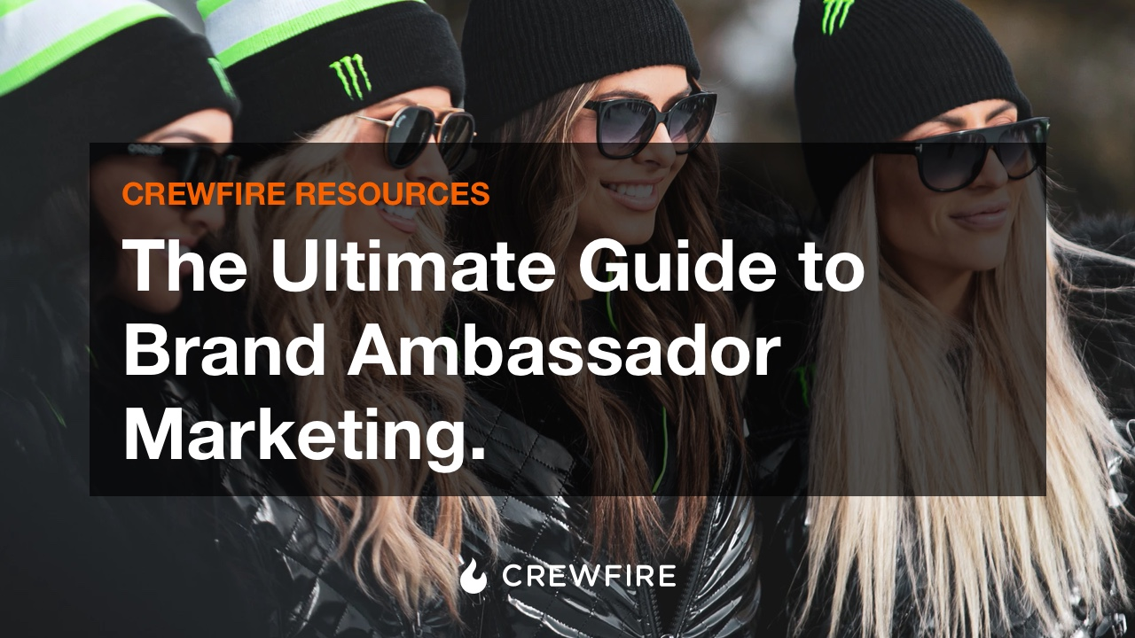 The Ultimate Guide to Brand Ambassador Marketing - Cover Graphic