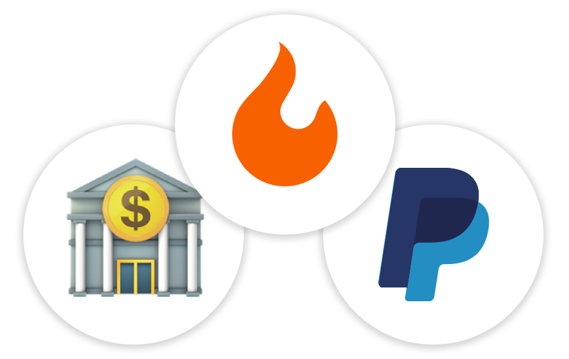 PayPal and ACH Transfer Payments for Brand Ambassadors