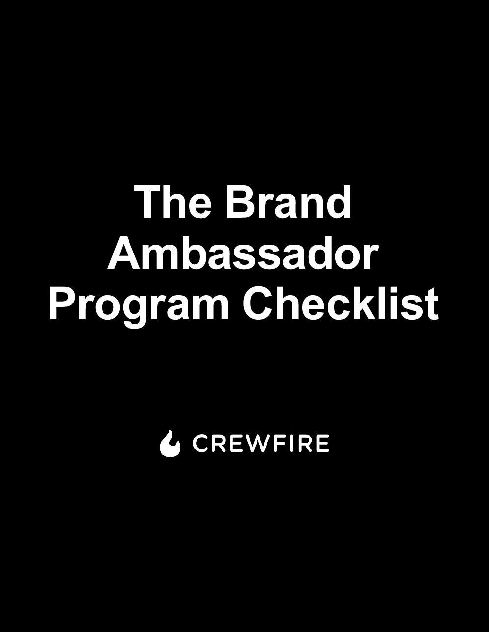 36 Tactics to Recruit Brand Ambassadors - CrewFire Guide