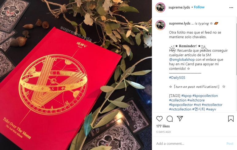 SM Global Shop Instagram UGC