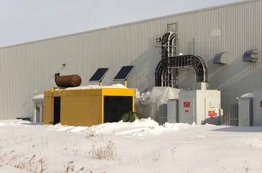 power-generator-in-winter-snow