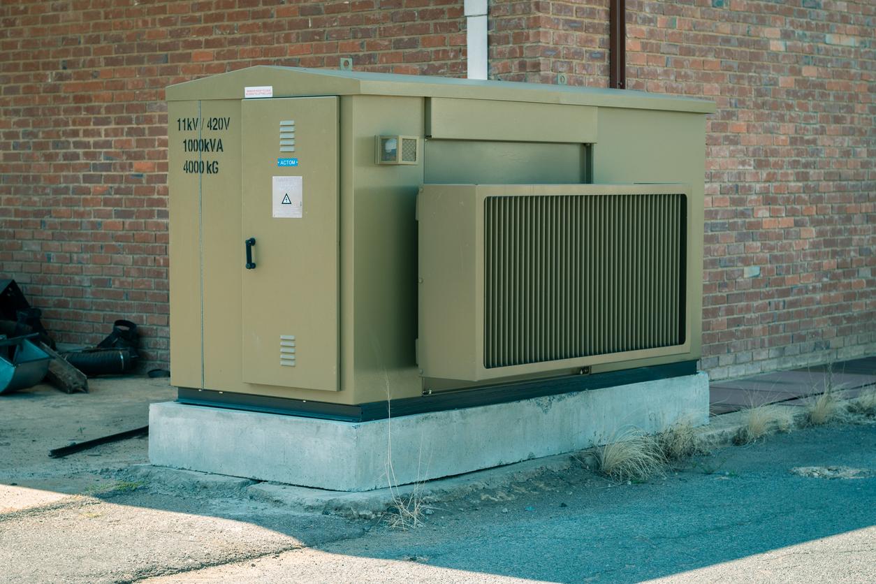 green-generator-brick-building