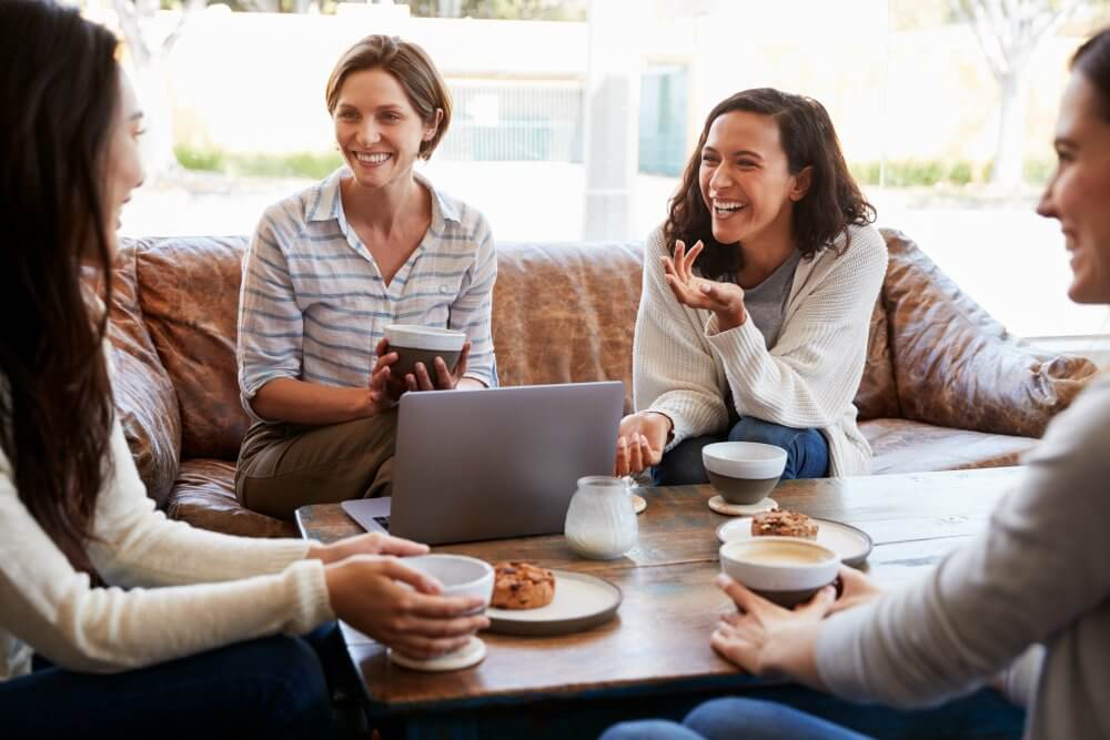 Photo of women discussing direct pay family medicine in Littleton Colorado