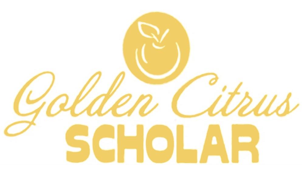 Golden Citrus Scholar logo