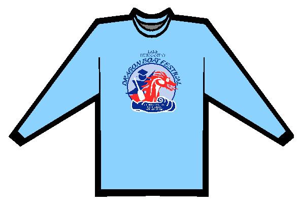 Illustration of the Lake Hernando Dragon Boat Festival shirt