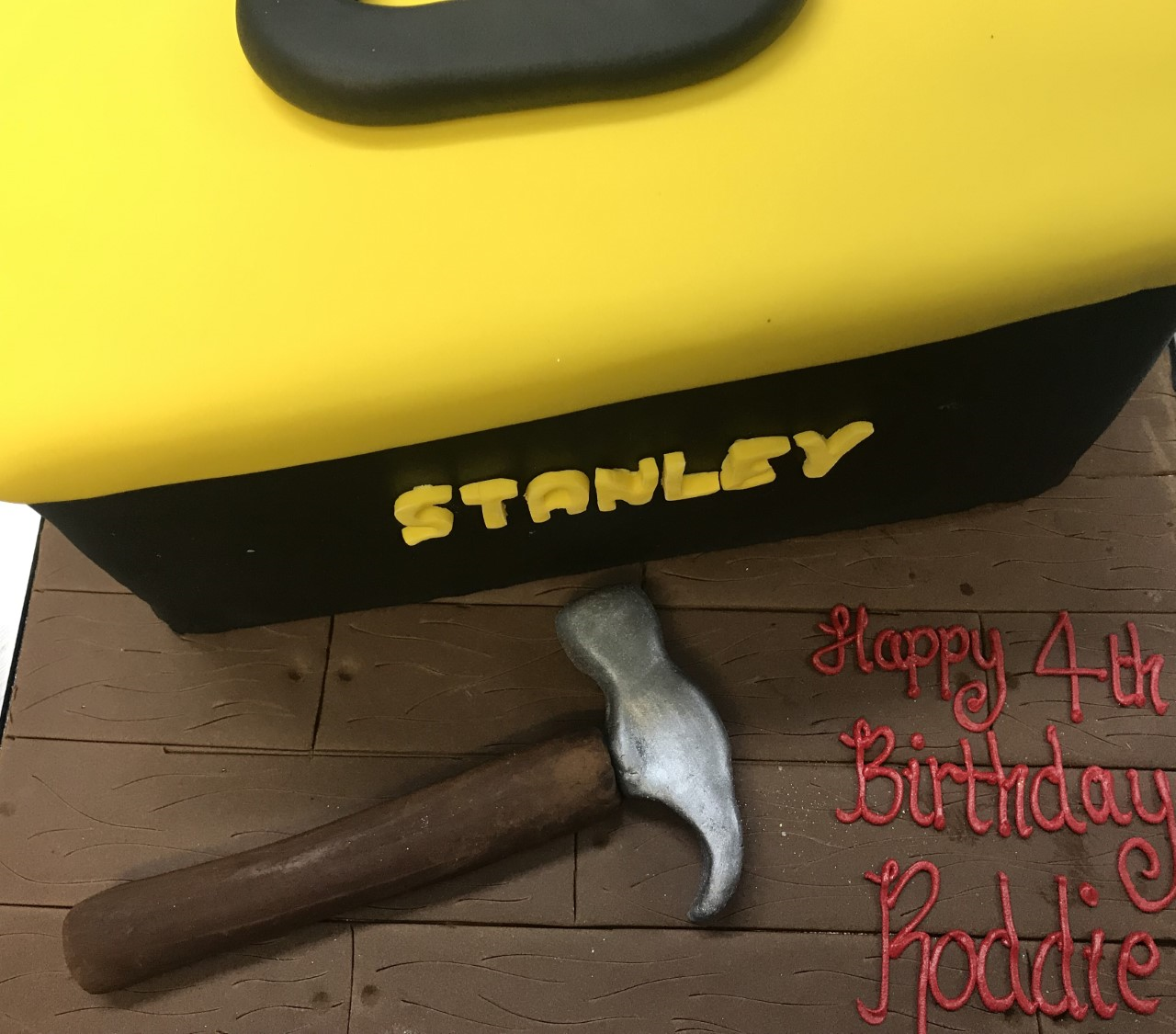 Stanley Tool Box Cake