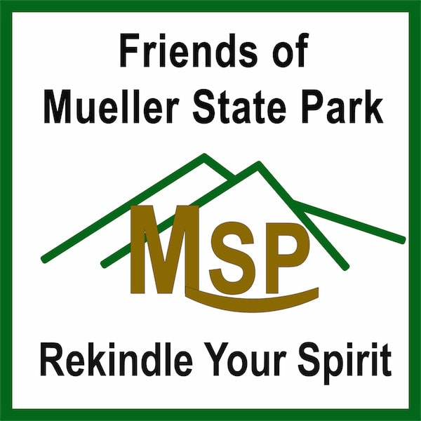 Friends of Mueller State Park Logo