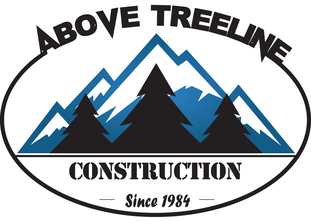 Above Treeline Construction Logo
